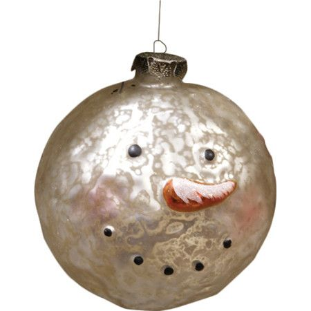 Dot your holiday tree with a handful of these classic ornaments for a traditional seasonal look, or hang a few across the mantel for a pop of festive style.�...
