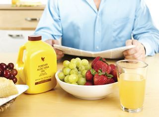 Natural, organic Aloe Vera from Forever Living - the purest, most potent aloe vera on the market Nothing added, nothing taken away - pure unfiltered gel.