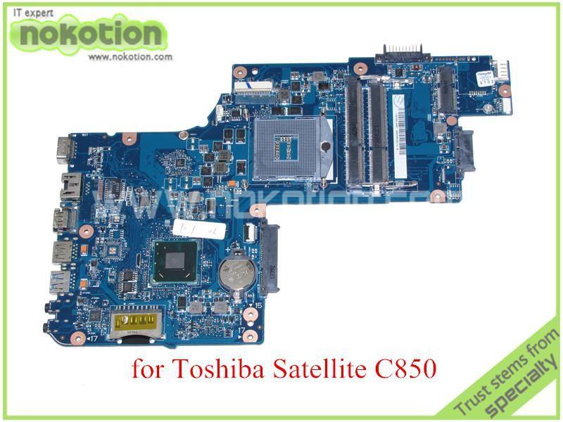 H000052590 For Toshiba Satellite C850 Laptop Motherboard 15 6 Hm76 Hd4000 Graphics Ddr3 Us 60 72 Laptop Motherboard Motherboard Toshiba