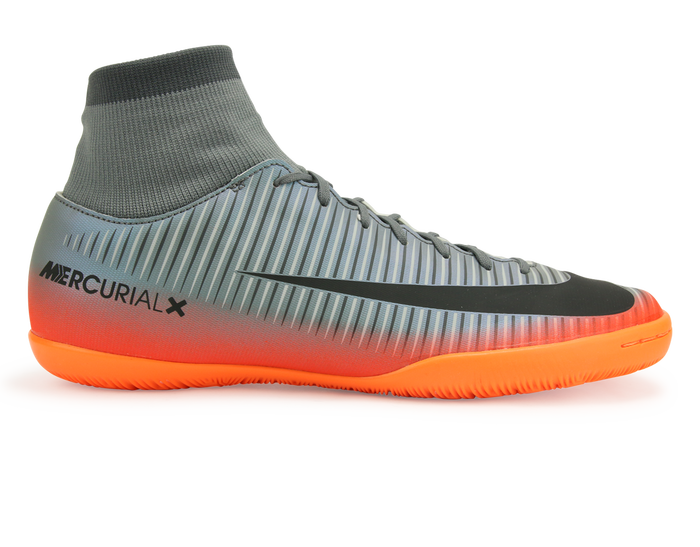 Nike Men S Mercurialx Victory Vi Cr7 Dynamic Fit Indoor Soccer Shoes Cool Grey Metalic Hematite Wolf Grey Soccer Shoes Soccer Shoes Indoor Nike Soccer Shoes