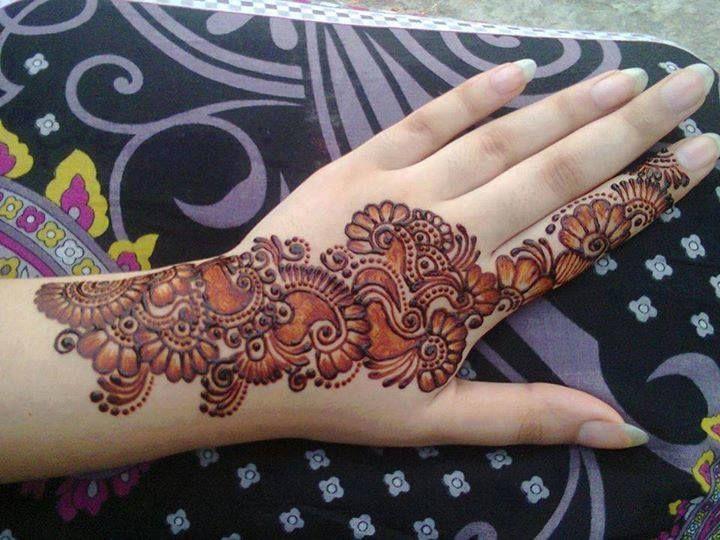 Mehndi Art Simple : Trendy mehandi arabic henna art designs