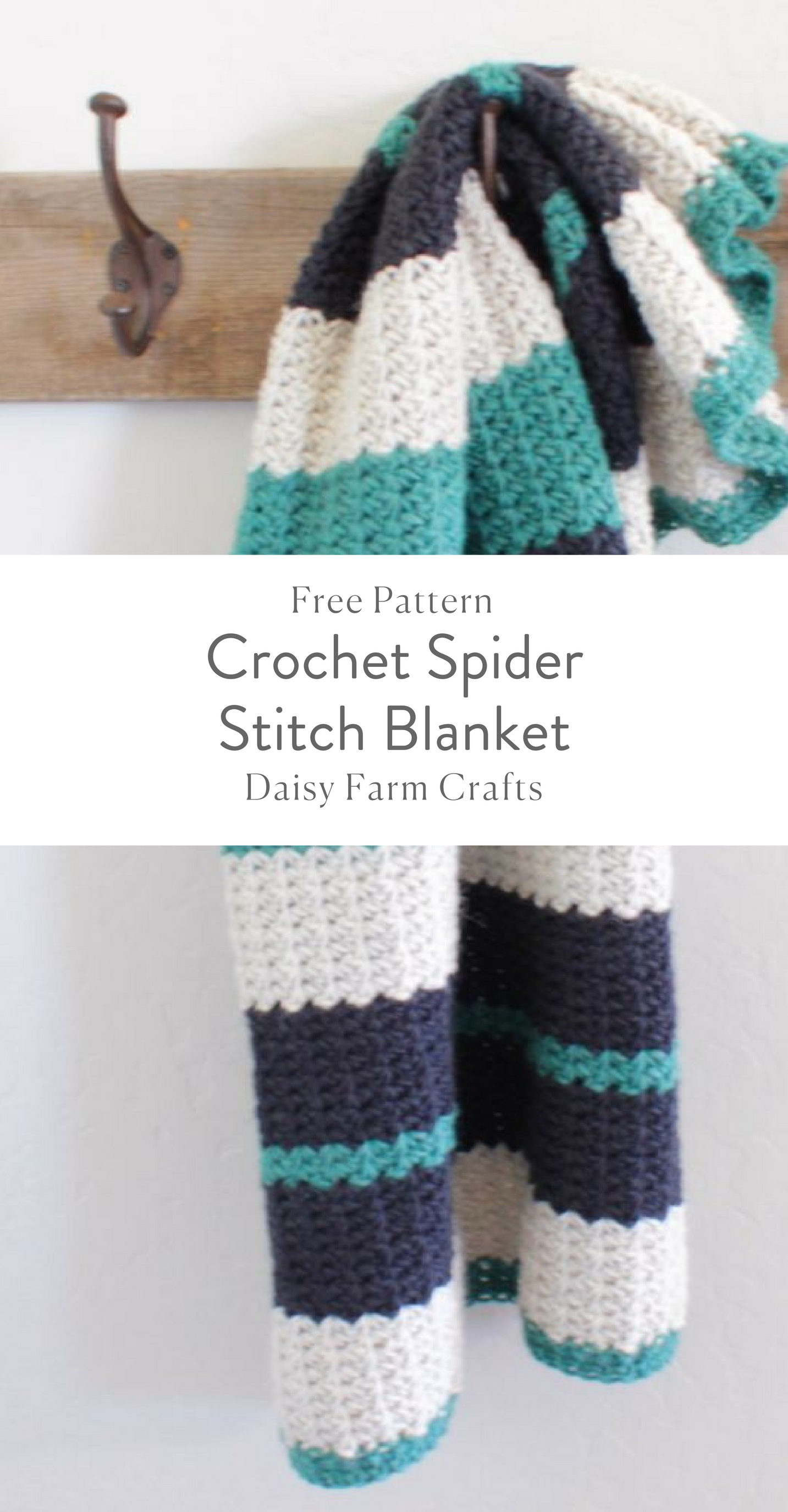 Free Pattern - Crochet Spider Stitch Blanket | Projects to Try ...
