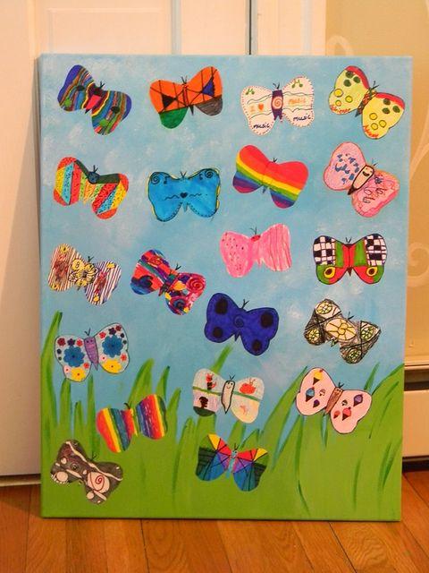 art fundraiser grade 2, via Flickr.