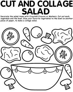 nutrition for kids-food groups color pages - Google Search ...