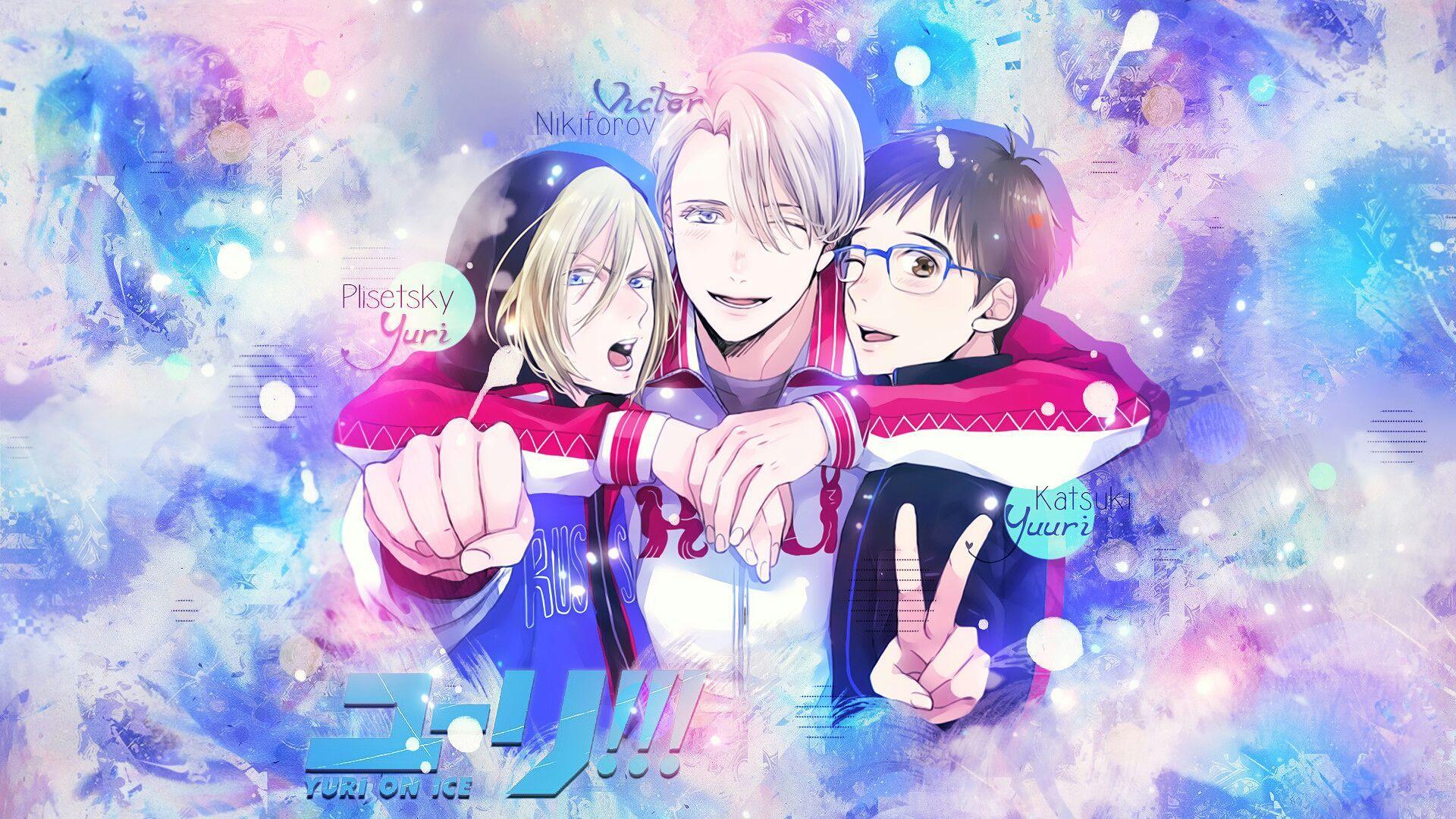 imagenes, memes o fondos de pantalla anime Yuri en hielo