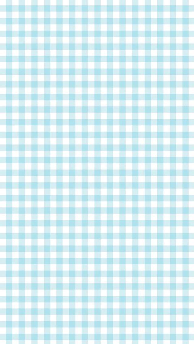 Blue Plaid Iphone Wallpaper