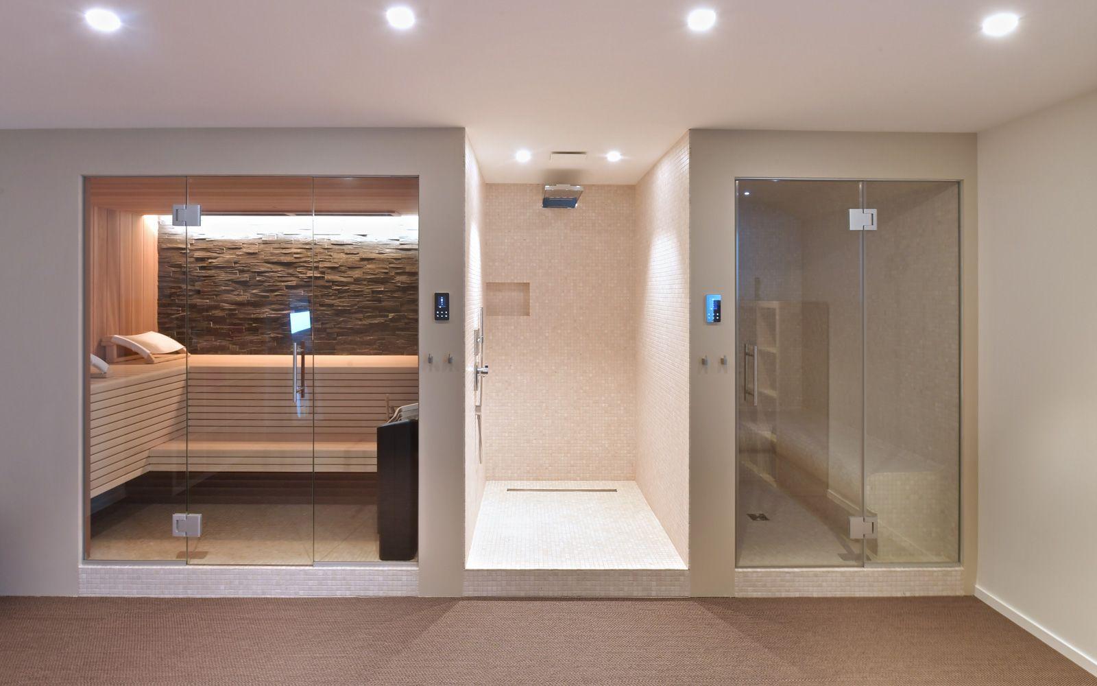 Moderne villa interieur pinterest ba o turco ba os y sauna - Bano turco en casa ...