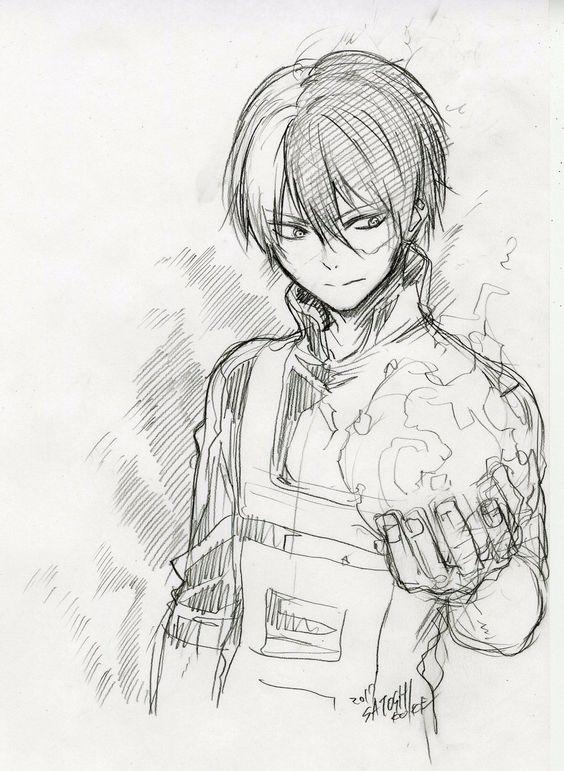My Hero Academia Bnha Shoto Todoroki Shoto Quirk