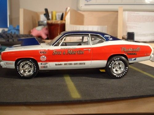 photos of sox & martin duster | Finished the Sox & Martin '73 Ply Duster - Racecars/Sports cars ...