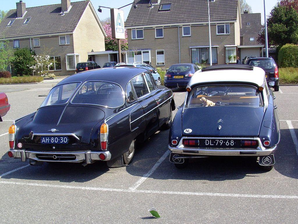 1967 citro n id 19 and 1969 tatra 603