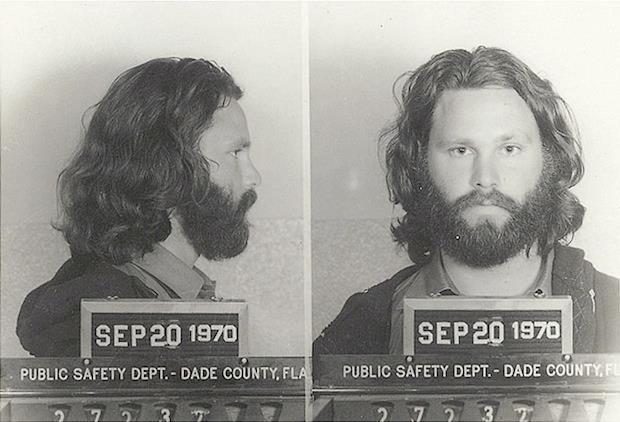 Morrison's arrest