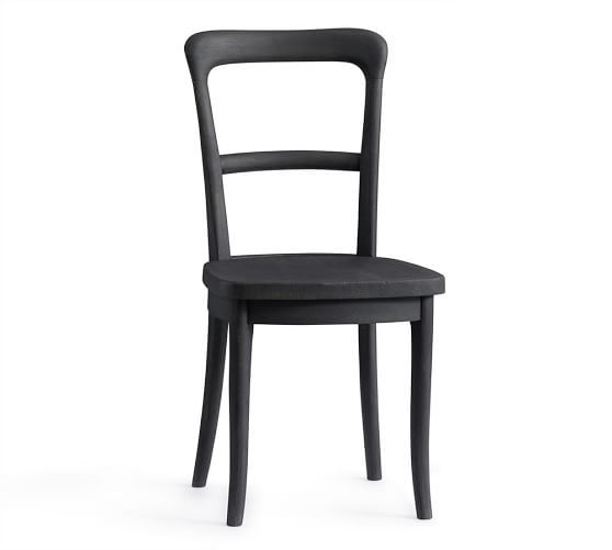 Cline Dining Chairs #potterybarn #mypotterybarn. Go with bistro table