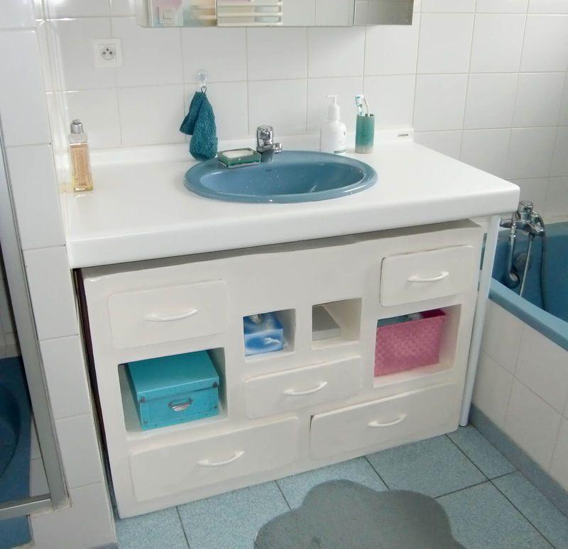 Meuble de salle de bain en Carton - So Carton из картона Pinterest