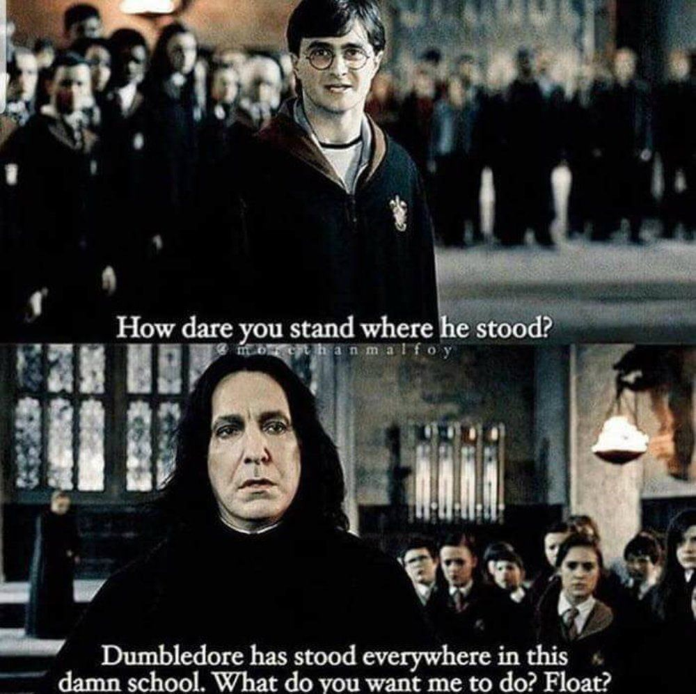 Harry Potter 10 Snape Logic Memes Only True Potterheads Understand Severus Snape Is One O Harry Potter Puns Harry Potter Memes Hilarious Harry Potter Jokes