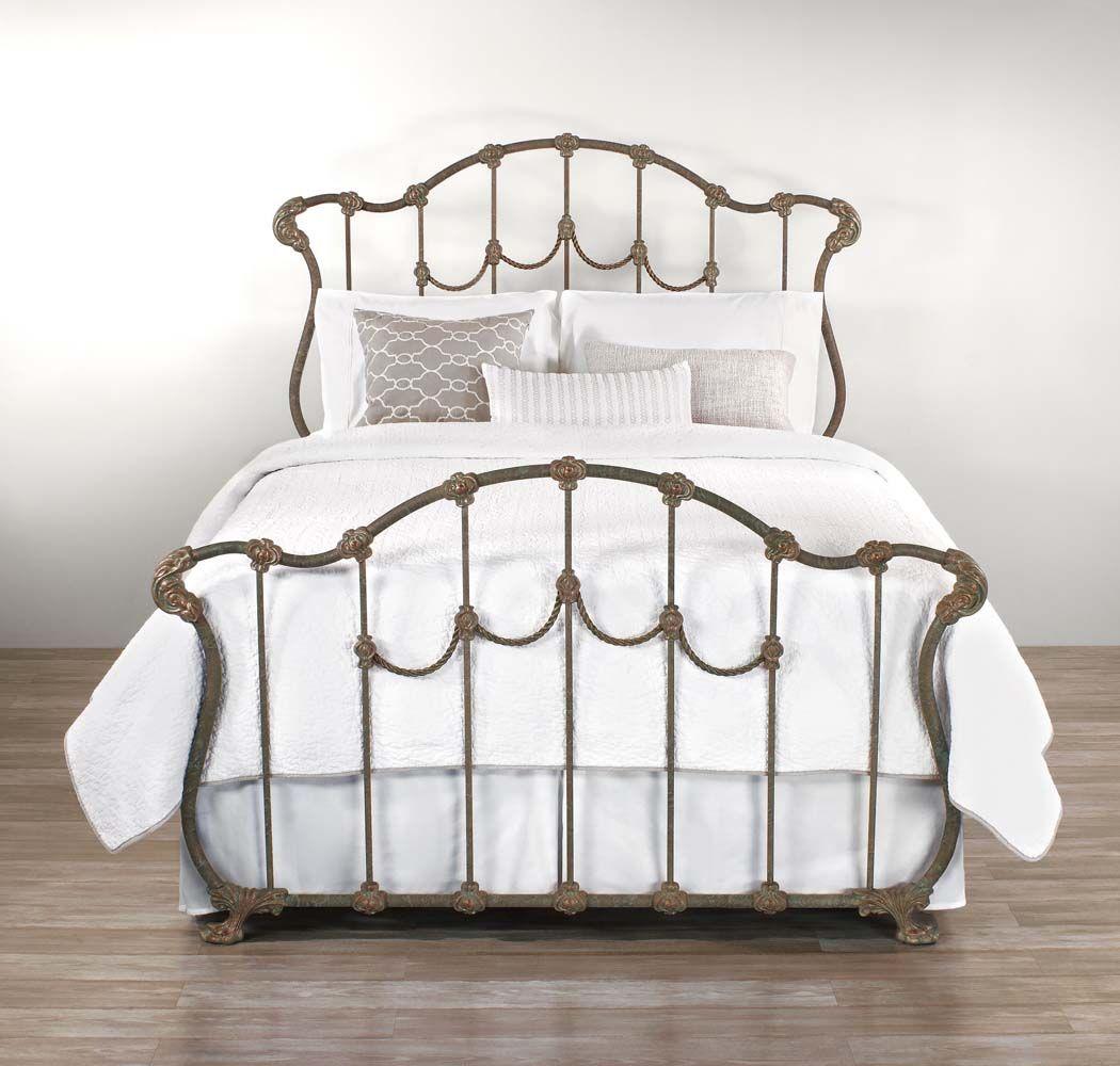Iron Beds Part - 32: Wesley Allen Hamilton Iron Bed Western Bedroom Furniture