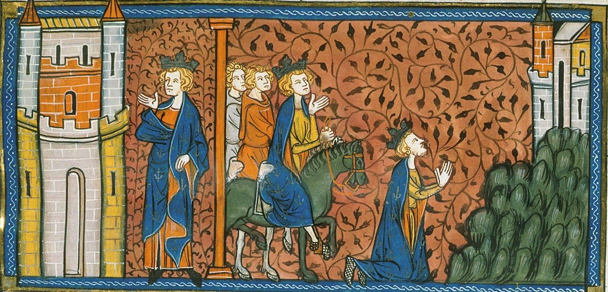 Septieme Croisade Saint Louis Chroniques De Saint Denis Saint Louis British Library Carthage