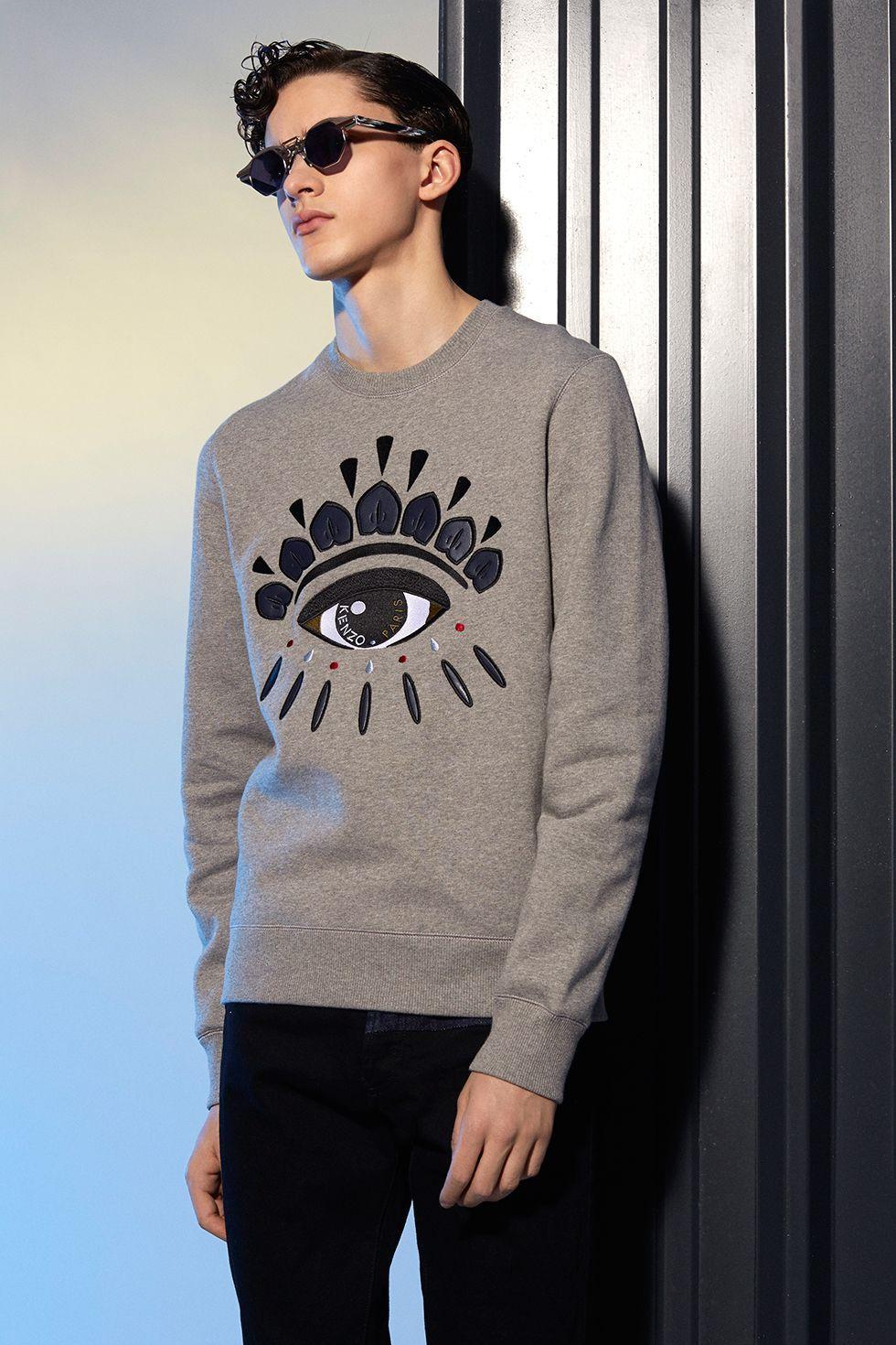 Kenzo Eye sweatshirt - Kenzo Sweatshirts & Sweaters Men - Kenzo E ...