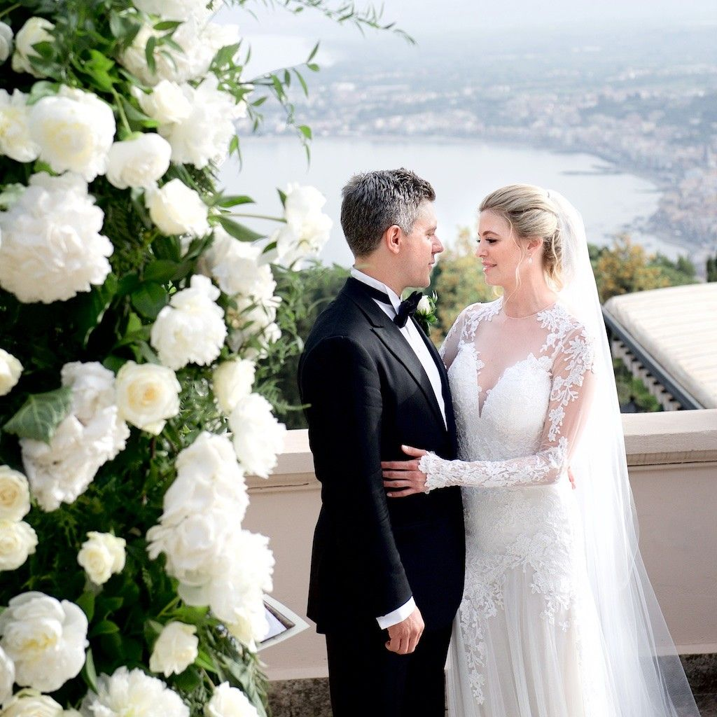 Wedding photographer taormina u grand hotel timeo wedding ceremony