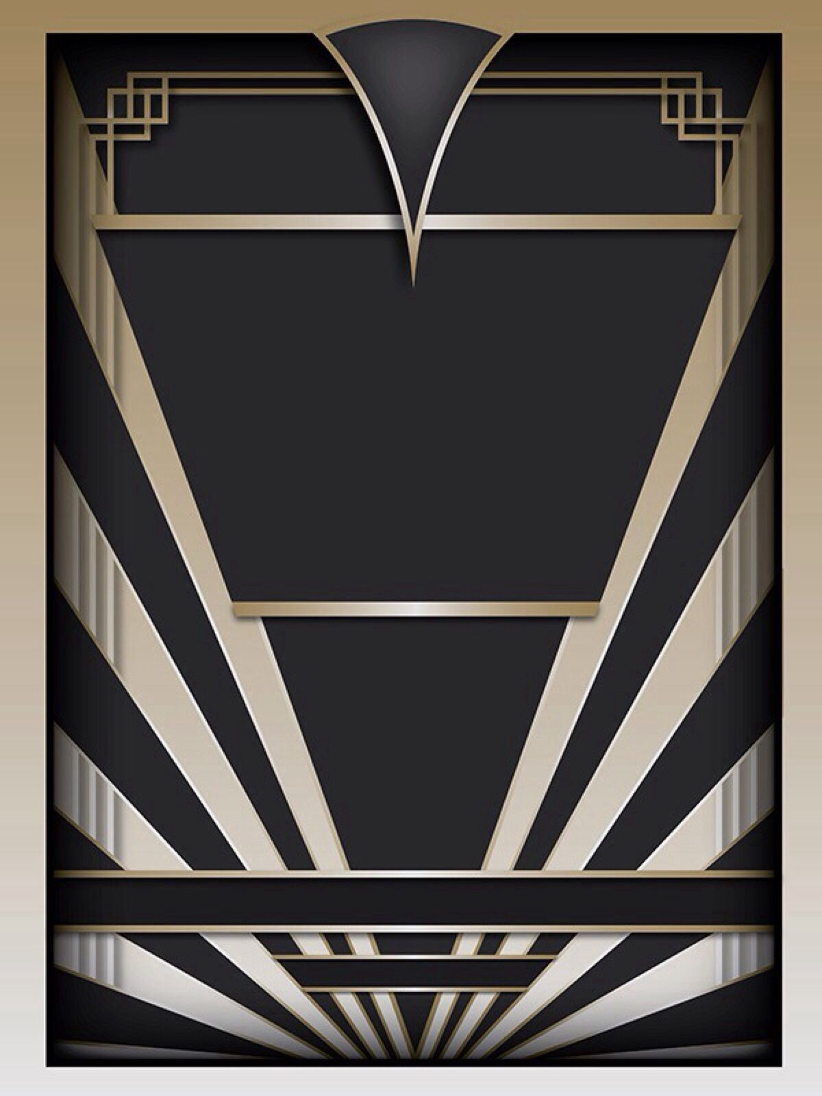 Art Deco Style Living Room: Art Deco Design-public Domain
