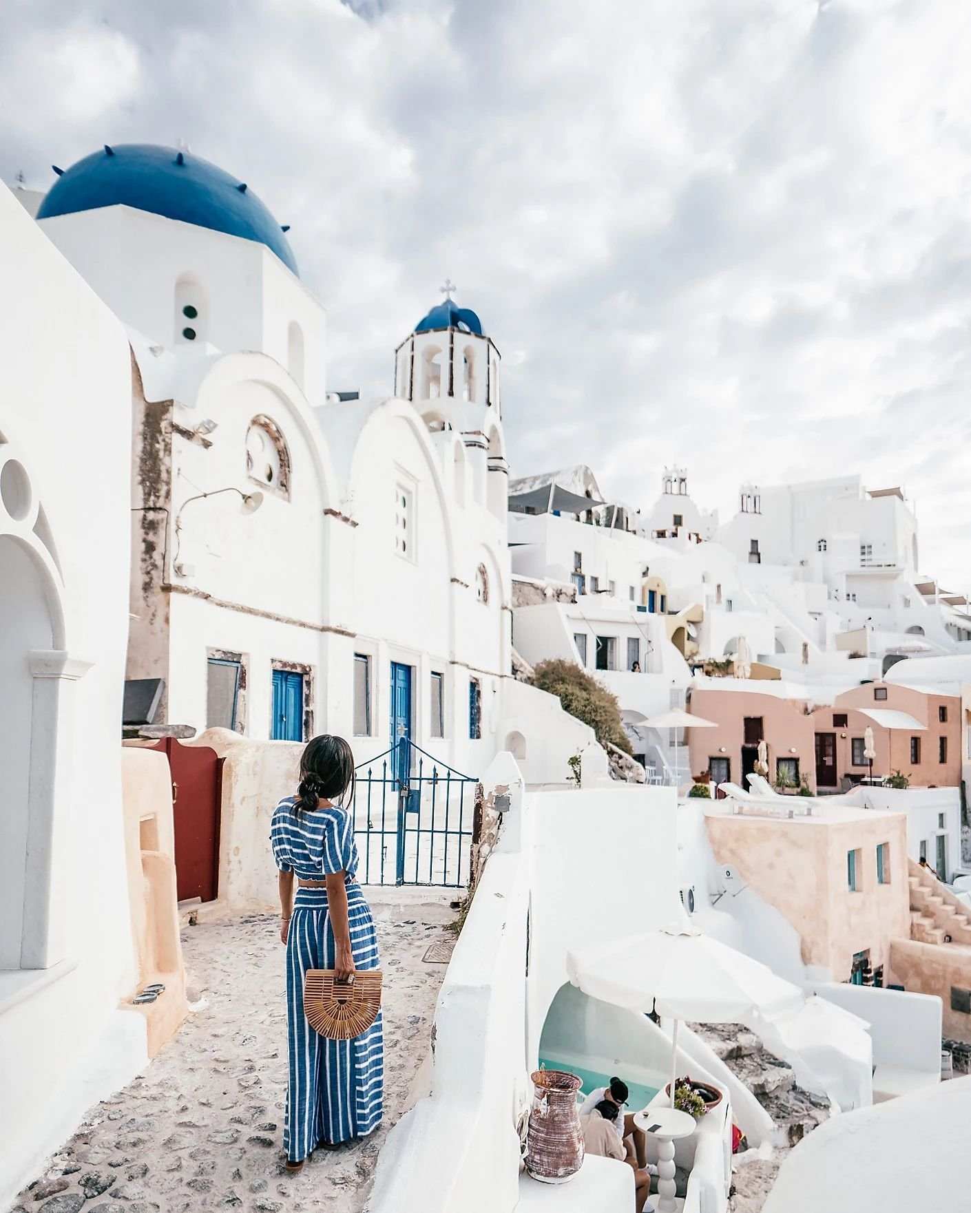 Blue Domes Of Oia Santorini Travel Guide To The Greek Islands Santorini Travel Santorini Travel Guide Greek Islands