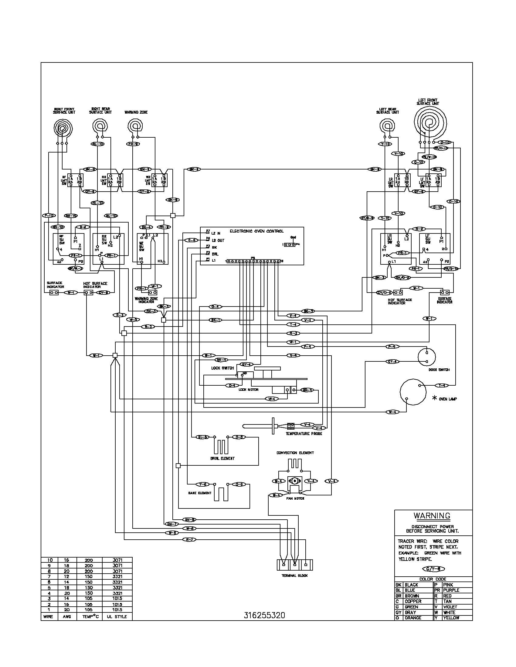 24 wiring diagram for electric stove http