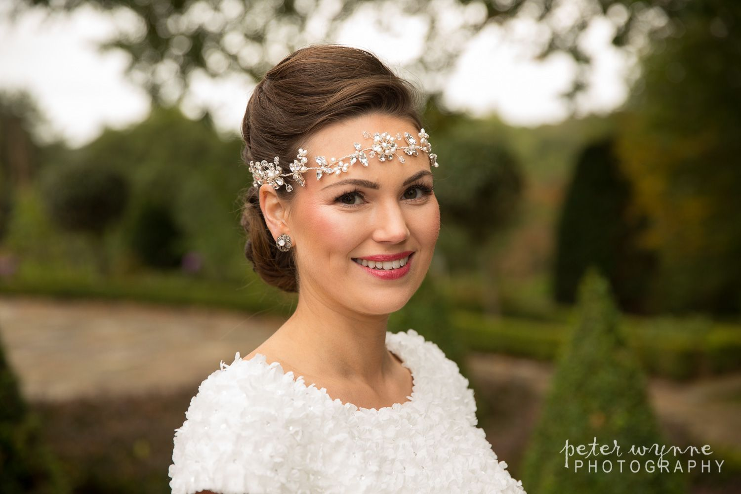 sparkly head band - bridal hair & make up of cheshire | all
