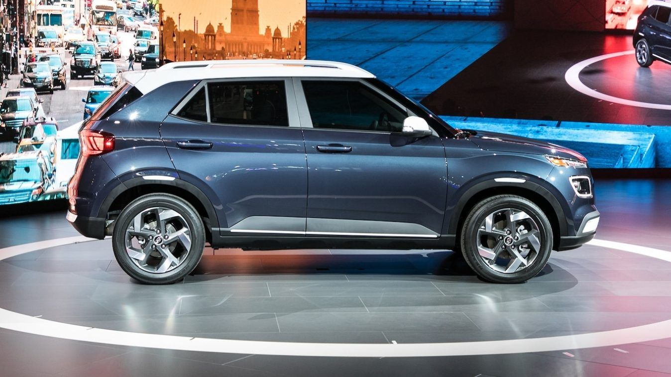 At The 2019 New York International Auto Show Hyundai Presented Its All New 2020 Venue The Most Recent Suv To Join Its Growing It New Hyundai Hyundai New Cars