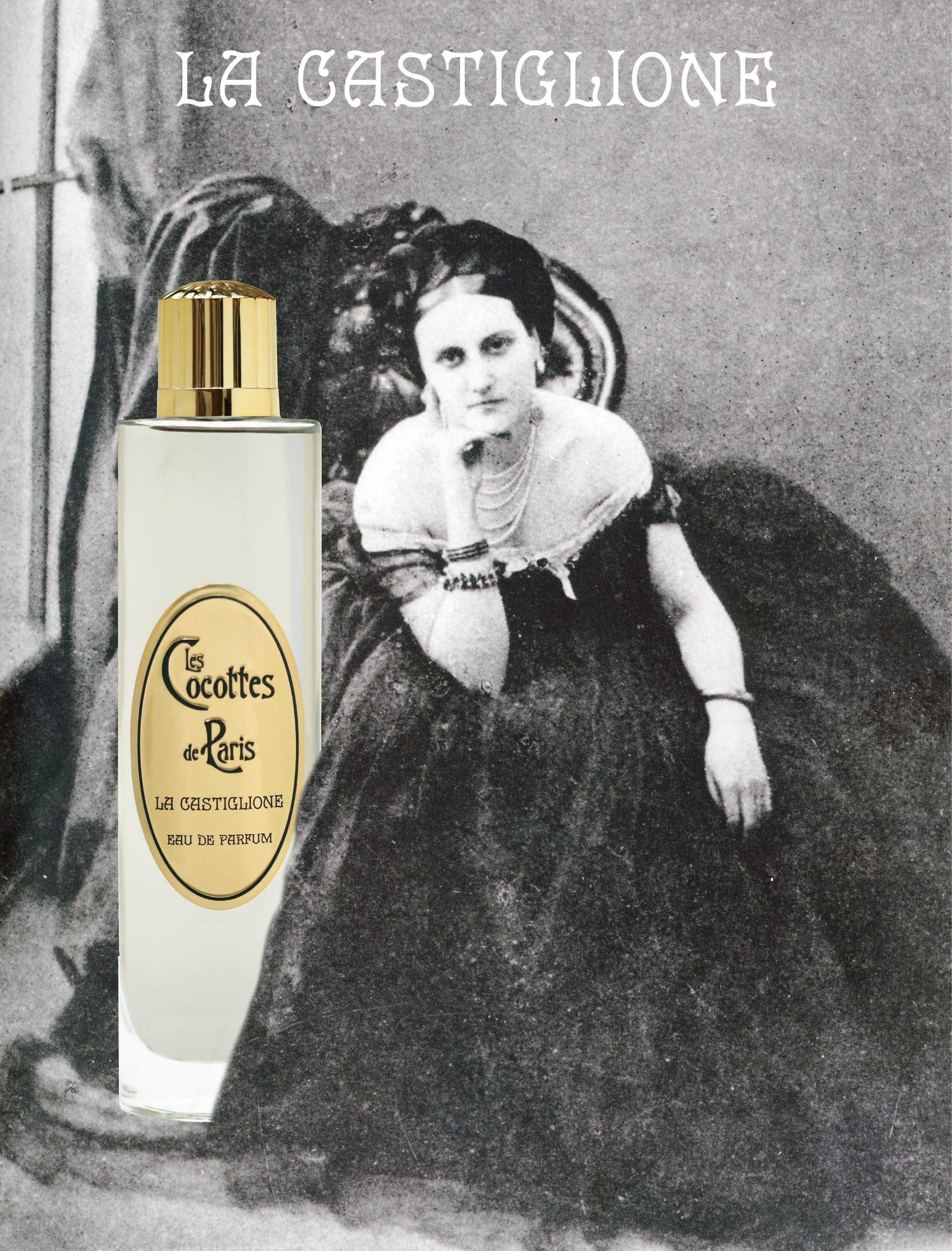 eau de parfum LA CASTIGLIONE - Les Cocottes de Paris