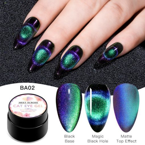 9d Cat Eye Gel Polish Not Sold In Stores Cat Eye Gel Polish Cat Eye Gel Gel Nails