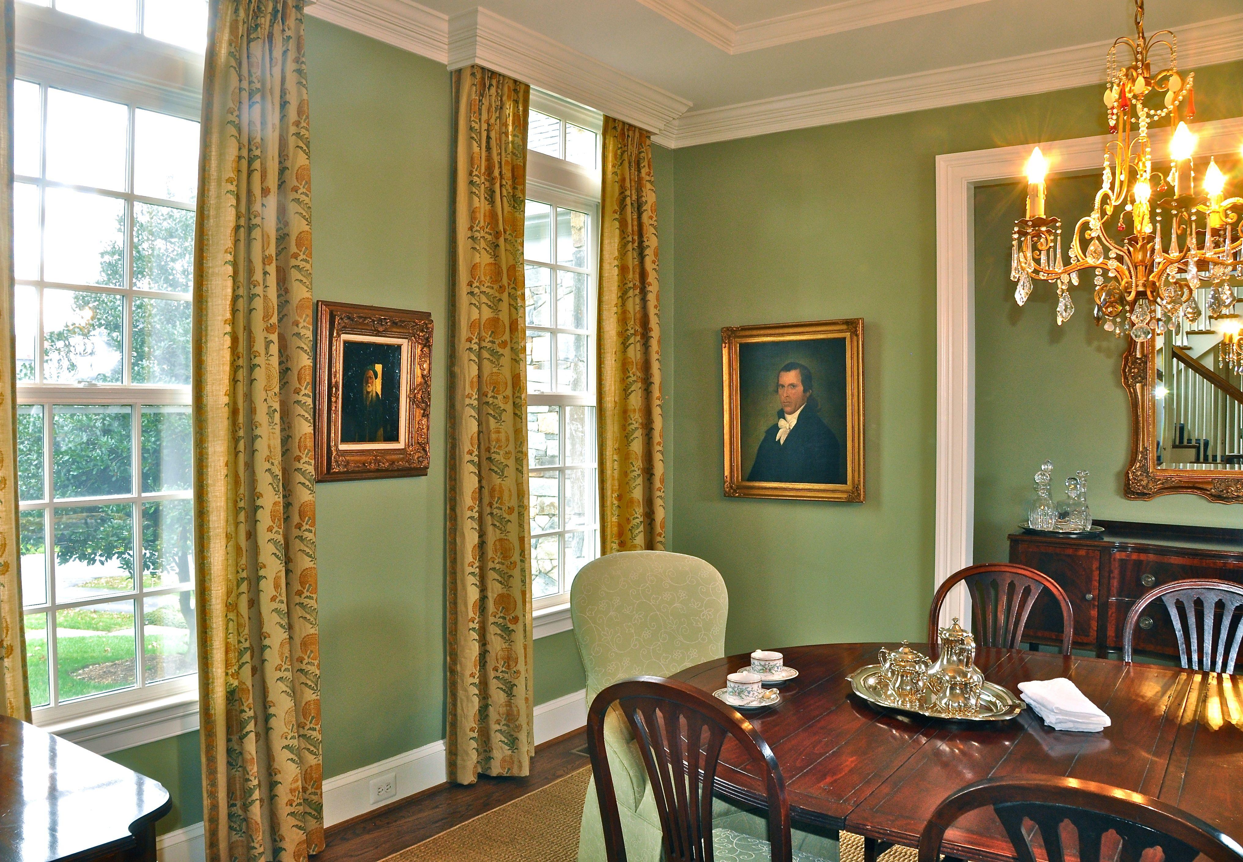 Best Farrow And Ball Lichen With Jasper Drapery Fabric House 400 x 300