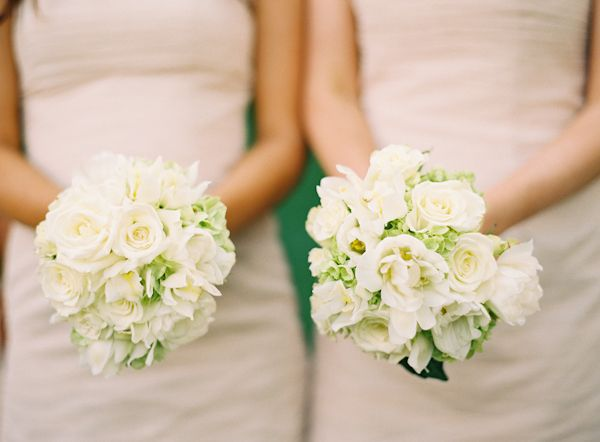 Late Summer Wedding Flowers | ... bouquets, flowers, white, blush ...