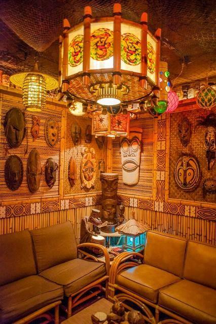 Tiki Bar Decor, Tiki Decor, Vintage Tiki