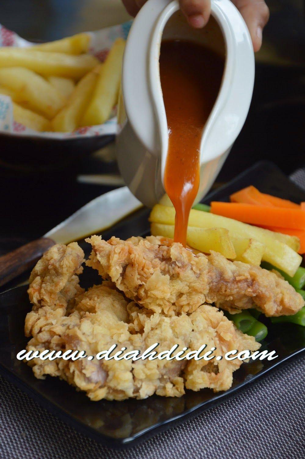Sirloin Crispy Steak Resep Steak Resep Masakan Makanan Dan Minuman