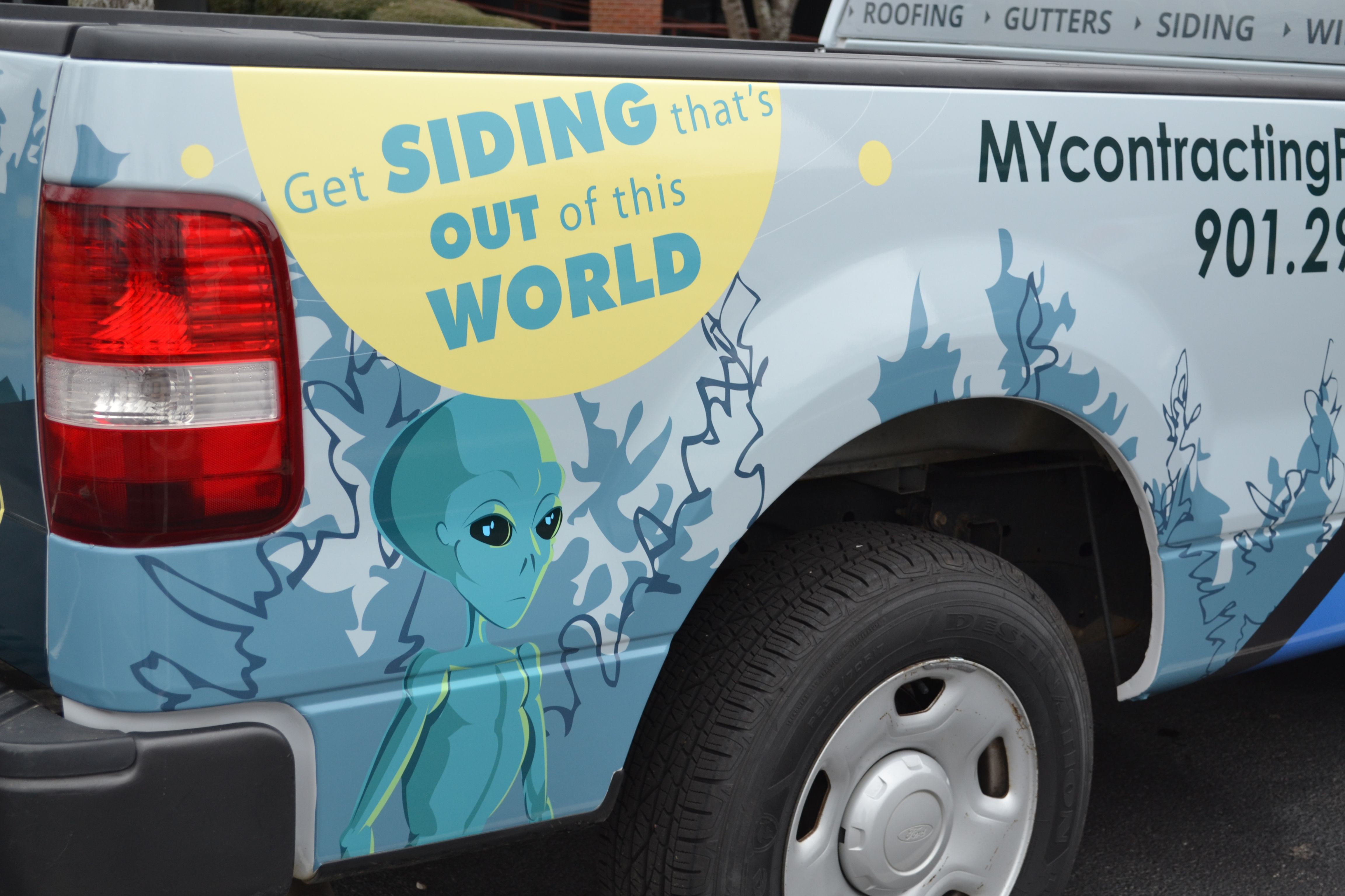 Vehicle Wrap done by Speedpro Imaging Memphis for contractingPro ...