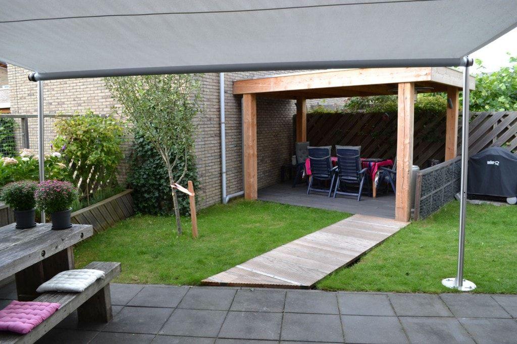 Sonnensegel Markise terrasse mit sonnensegel terrassengestaltung