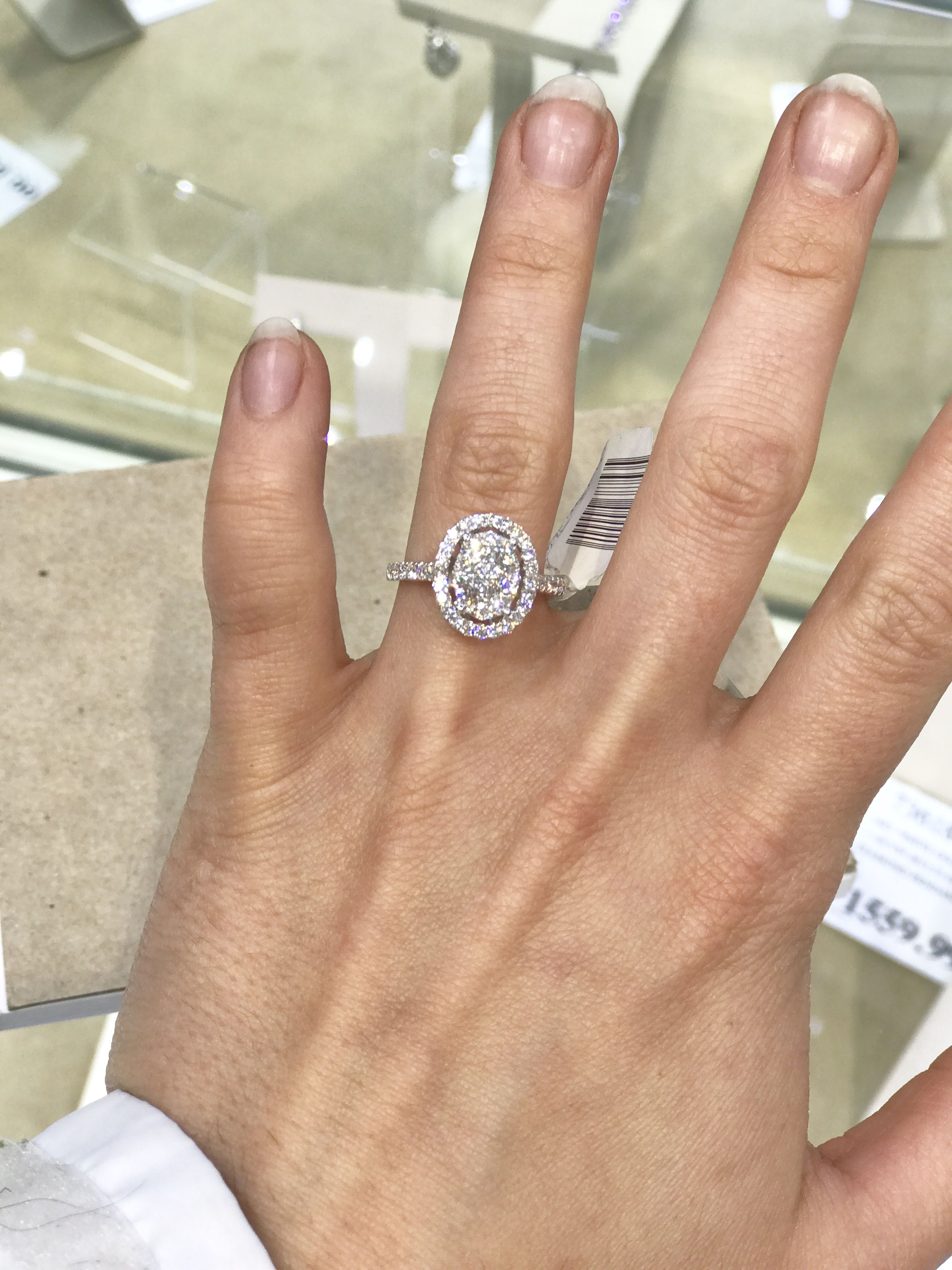 weddings dream ring from freaking costco too - Costco Wedding Ring