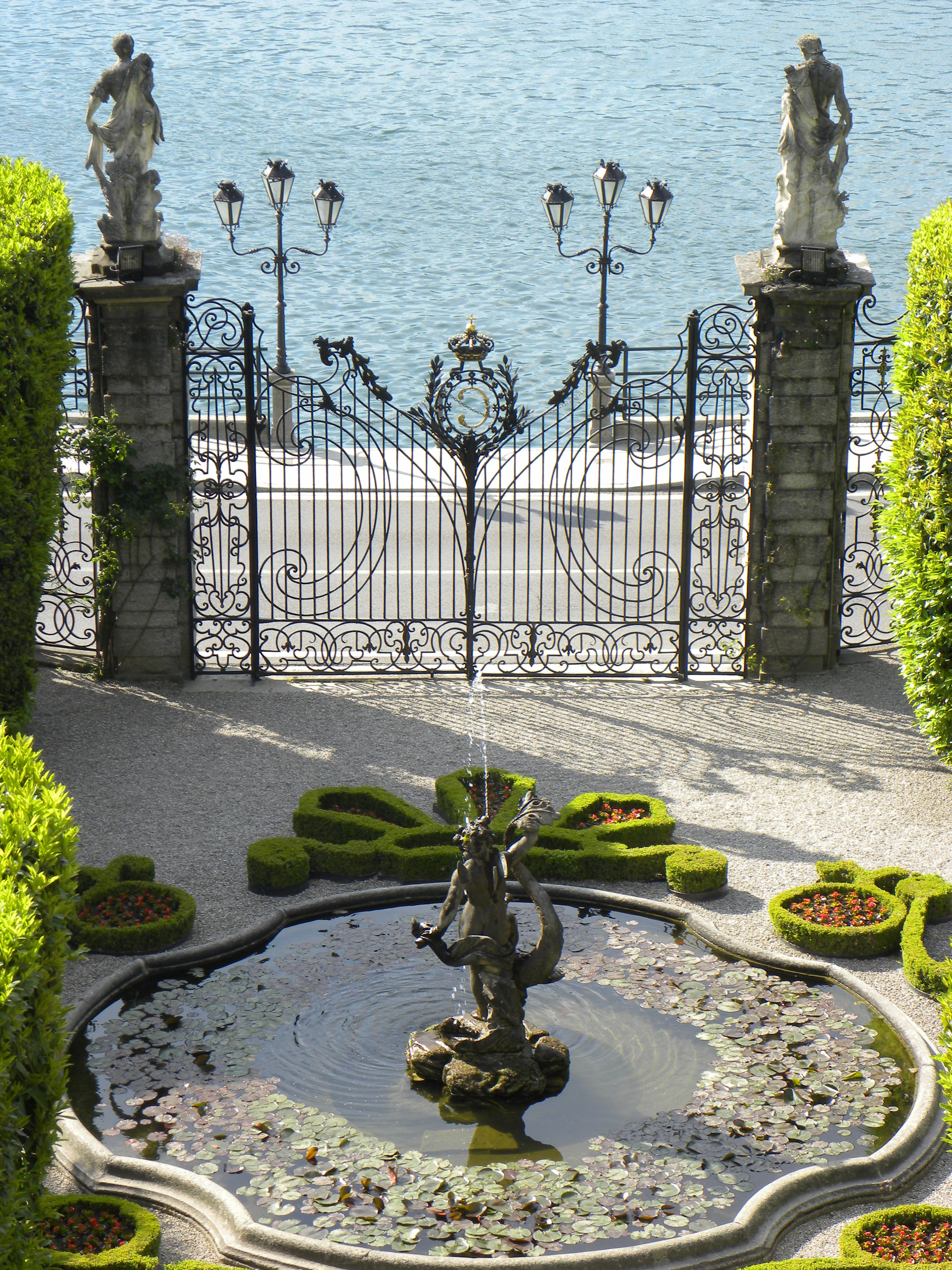 Villa Carlotta, Lake Como Italy Seen