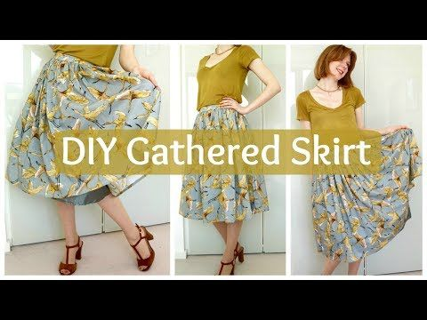 Sew A Skirt Without A Pattern Choice Image - origami instructions ...