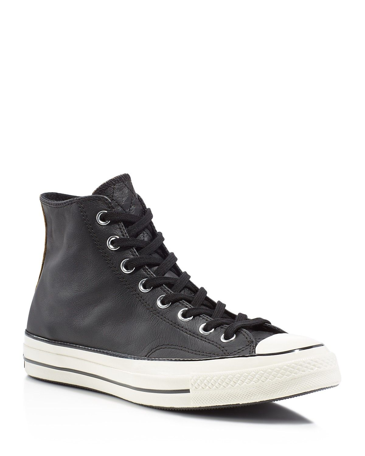 f868445bc3a8 Converse Chuck Taylor All Star Leather High Top Sneakers - Your favorite  Converse high-top sneakers get a modern update in smooth leather.