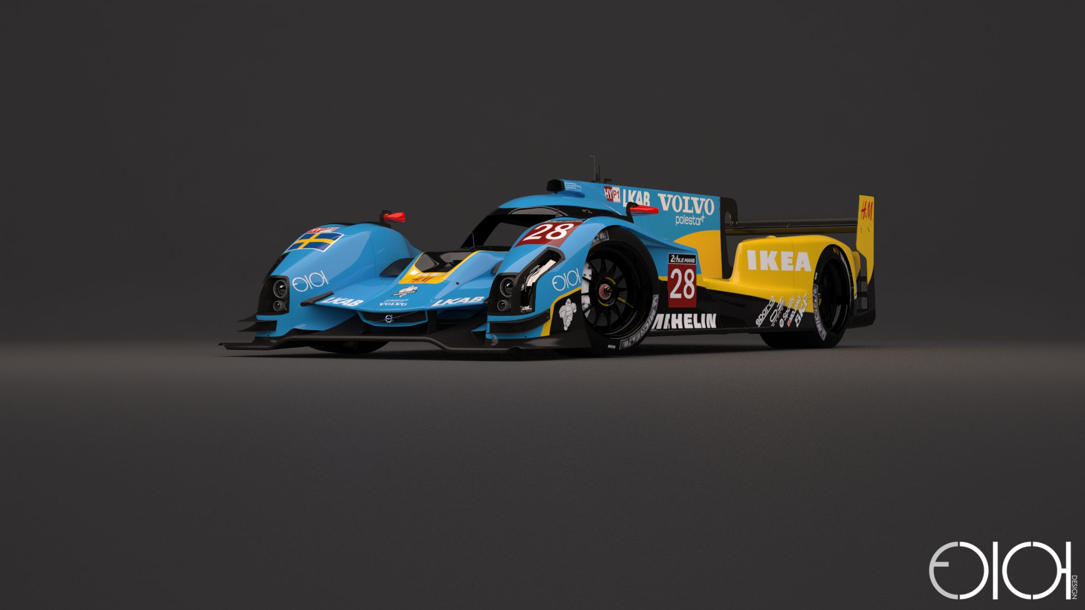 Ikea Le Mans This Stunning Volvo Lmp1 Concept Design Needs To Be A Thing