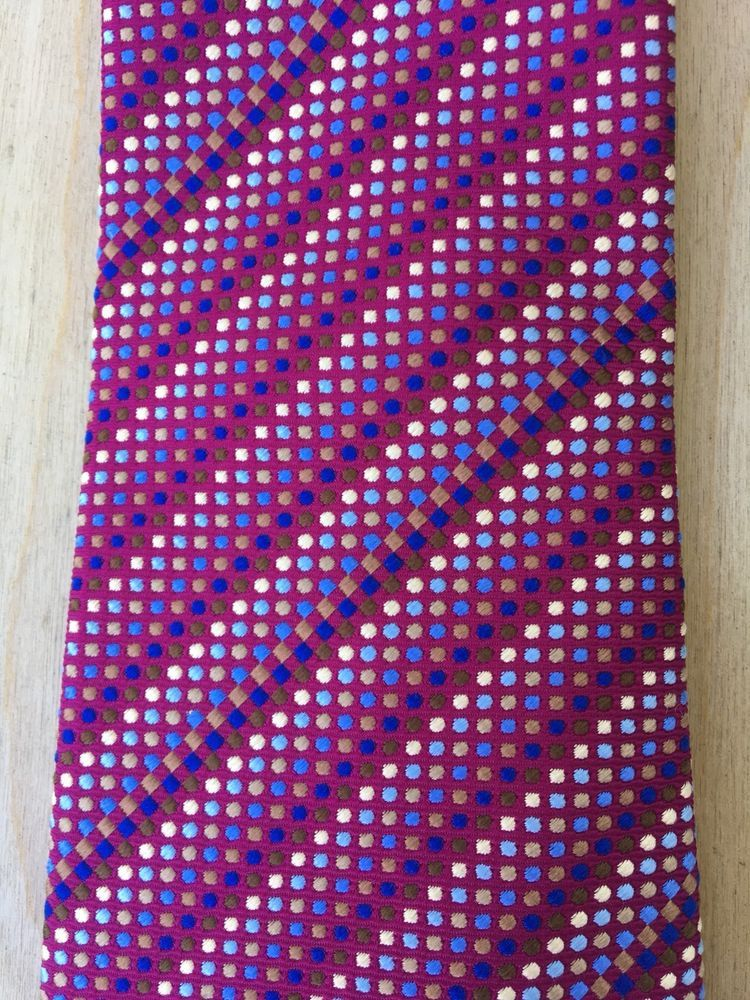 f8677ea5a82e Turnbull & Asser Purple Pindot Stripe Necktie #fashion #clothing #shoes  #accessories #mensaccessories #ties (ebay link)