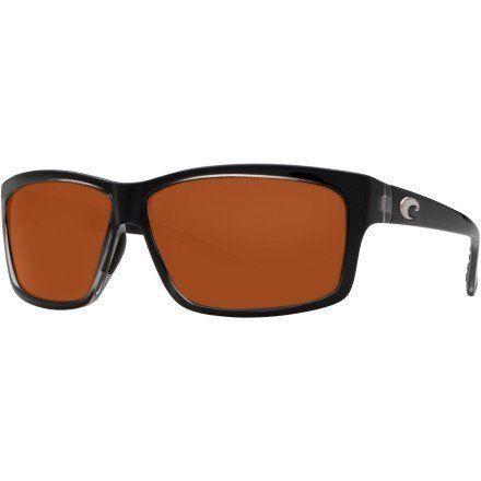 costa del mar sunglasses cut plastic frame squall lens polarized copper polycarbonate frame material plastic lens material plastic