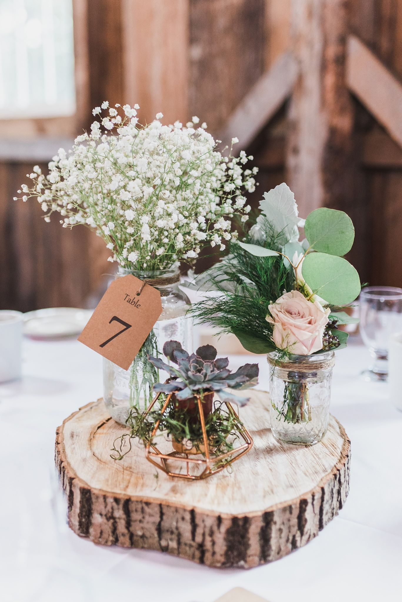 Centre De Table Fait Maison