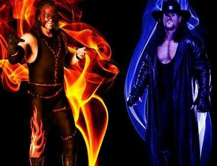 Undertaker Vs Kane Ring Of Fire
