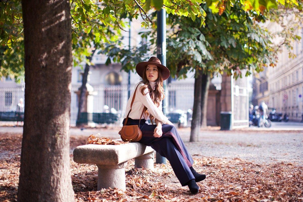 Negin: Chloe Small Marcie bag