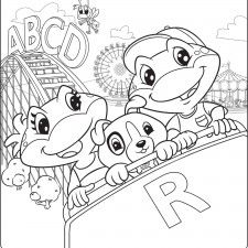 Free Downloadable and Printable Coloring Pages from LeapFrog