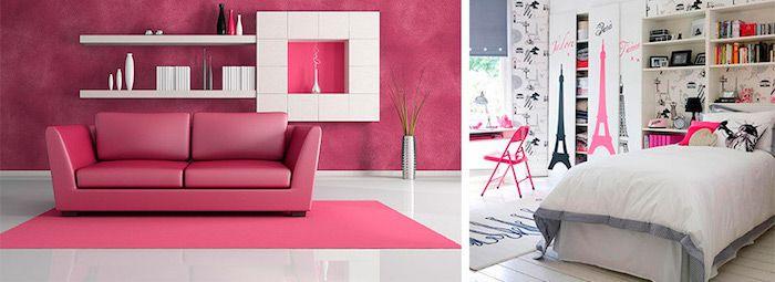 ▷ 1001 + manières superbes de faire éclater la déco avec la couleur - faire une chambre dans un salon