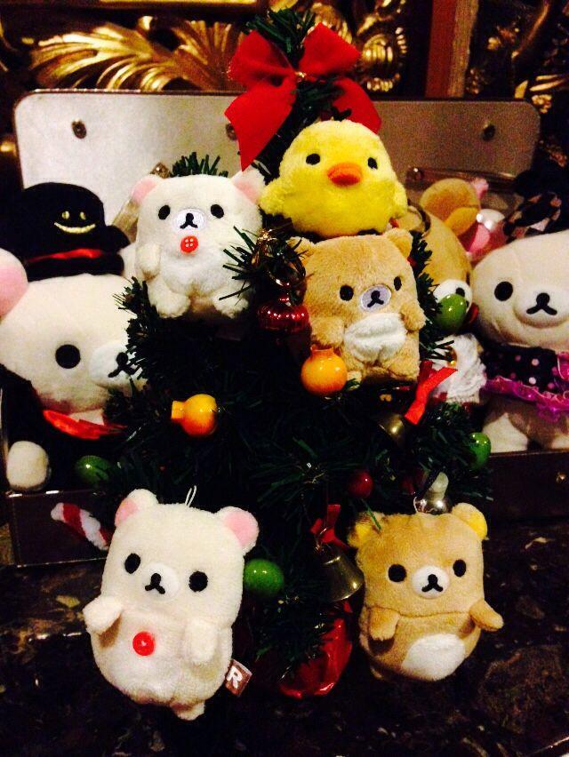 #Rilakkuma little X'mas tree o(^▽^)o