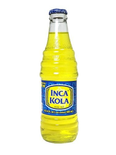 Inca Cola 10oz Glass Jpeg Drinks Soda Pop Bottle
