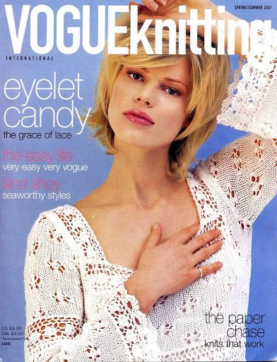 Vogue Knitting 2007 Spring-Summer - julie cen - Picasa Webalbumok